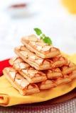Sfogliatine - pastelarias de sopro italianas fotografia de stock royalty free