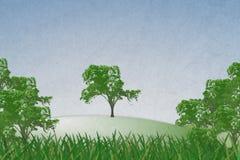 Sfondo naturale astratto Fotografia Stock