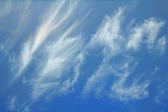 Sfondo naturale con la nuvola del cielo blu Immagine Stock