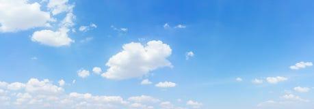 Sfondo naturale del cielo e della nuvola di panorama Immagini Stock Libere da Diritti
