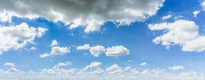 Sfondo naturale del cielo e della nuvola di panorama Fotografia Stock Libera da Diritti