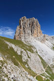 Sforcella peak - Catinaccio group Royalty Free Stock Images
