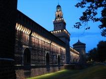 sforcesco castelo Στοκ Εικόνες