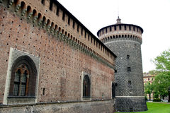 Sforza Castle Royalty Free Stock Image