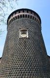 Sforza castle Stock Images