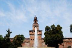 Sforza castle, Milan Stock Image