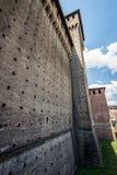 Sforza castle Milan - Bona tower Royalty Free Stock Photos