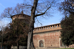 Sforza Castle, Milan Royalty Free Stock Photo