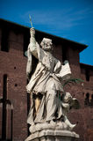 Sforza Castle in Milan, Italy Royalty Free Stock Image