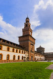 Sforza Castle in Milan Italy Royalty Free Stock Image