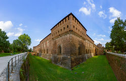 Sforza Castle in Milan Italy Stock Images