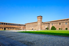 Sforza Castle in Milan Royalty Free Stock Photography