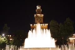 Sforza castle Milan Italy Stock Image