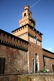 Sforza Castle in Milan, Italy Royalty Free Stock Photos