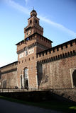 Sforza Castle in Milan, Italy Royalty Free Stock Images