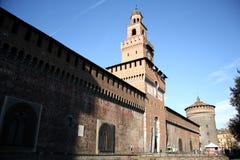 Sforza Castle in Milan, Italy Royalty Free Stock Image