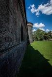 Sforza castle Milan - moat Stock Photography
