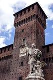 Sforza Castle Stock Photography