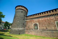Sforza's Castle Royalty Free Stock Image