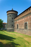 Sforza's Castle Stock Photos