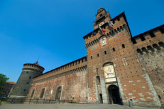 Sforza's Castle Stock Photography