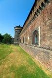 Sforza's Castle Stock Image