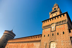 Sforza's Castle, Milan, Italy. Royalty Free Stock Images
