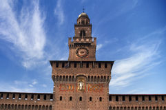 Sforza's Castle - Milan Italy Royalty Free Stock Photo