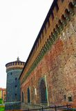 Sforza ` s kasztel w Milan Obrazy Stock