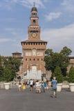 Sforza Schloss in Mailand, Italien Stockfoto