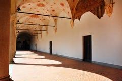 Sforza-Schlossdetail Lizenzfreie Stockfotografie