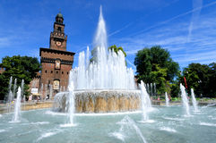 sforzesco του Μιλάνου κάστρων castello Στοκ εικόνα με δικαίωμα ελεύθερης χρήσης