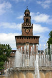 sforzesco castello стоковые фотографии rf