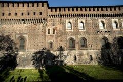 sforzesco castello Milan fotografia stock