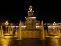 sforzesco castello Milano Fotografia Royalty Free