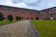 Sforzesco castle Royalty Free Stock Photo