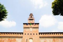 Sforzesco castle, Milan Stock Photography