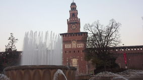 Sforzesco Castle Stock Photos