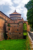 Sforzesco castle, Milan Royalty Free Stock Image