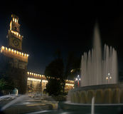 Sforzesco castle in Milan, Italy Royalty Free Stock Image