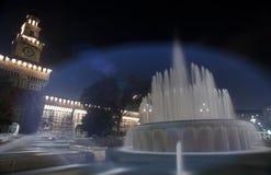 Sforzesco castle in Milan, Italy Stock Image