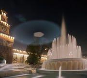 Sforzesco castle in Milan, Italy Stock Photo