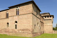 Sforzesco Castle south west tower, Pandino Stock Photography