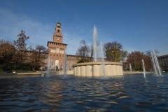 Sforzesco kasztel 2016 - Mediolan - Zdjęcie Stock