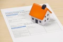 Sforzo del mercato degli alloggi Immagine Stock Libera da Diritti