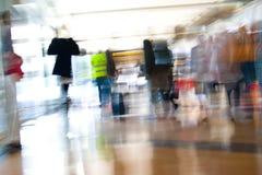 Sforzo dell'aeroporto Fotografia Stock