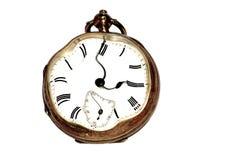 Sforzo dell'orologio e concetto sollecitati di tempo Immagine Stock Libera da Diritti