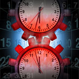 Sforzo di orario di lavoro Immagine Stock Libera da Diritti