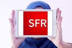 SFR telecommunications company logo Stock Photos