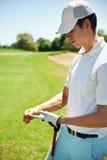 Sfrustowany Golfista zdjęcia royalty free